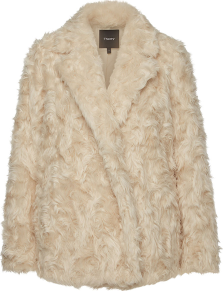 Theory Clairene Faux Fur Jacket