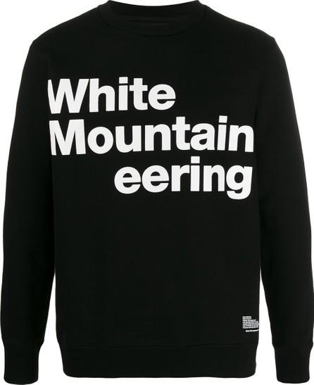 White Mountaineering Logo jersey sweatshirt