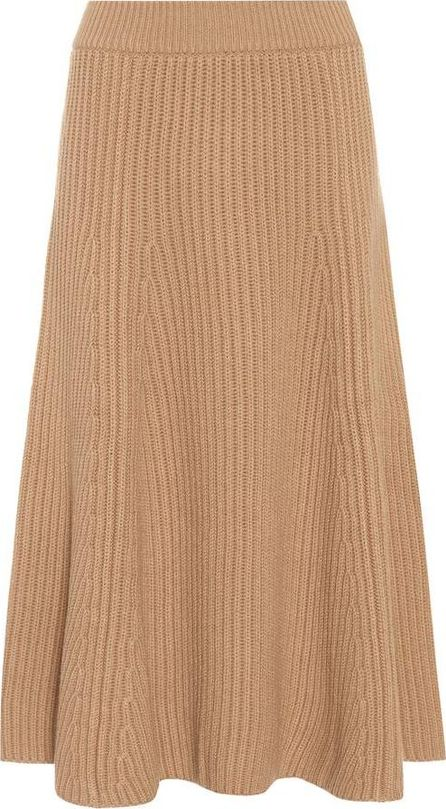 Agnona Ribbed wool and cashmere skirt