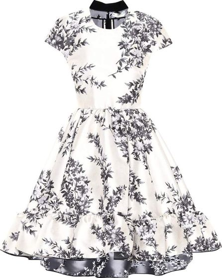 Fendi Floral brocade dress