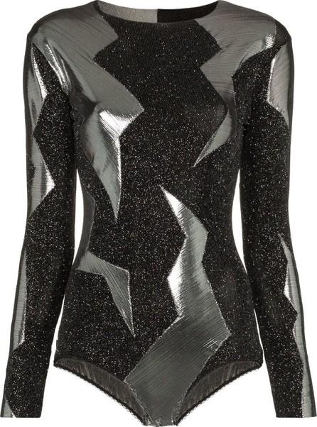 Alexia Hentsch X Browns Metallic Lightning Bodysuit