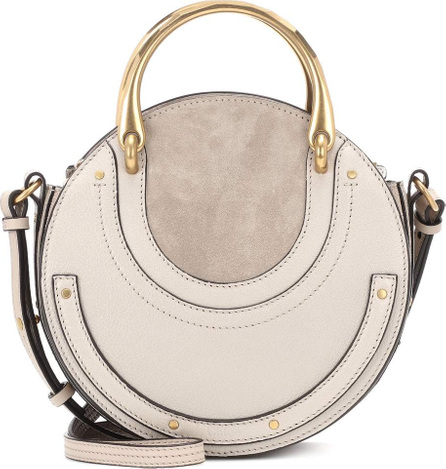 Chloe Pixie leather and suede shoulder bag