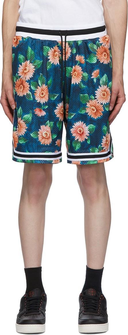 John Elliott Multicolor Floral Game Shorts