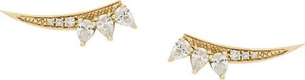 Gisele For Eshvi bow shaped earrings