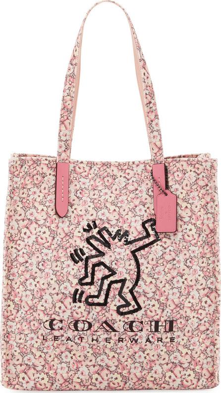 COACH 1941 x Keith Haring Dancing Man Tote Bag