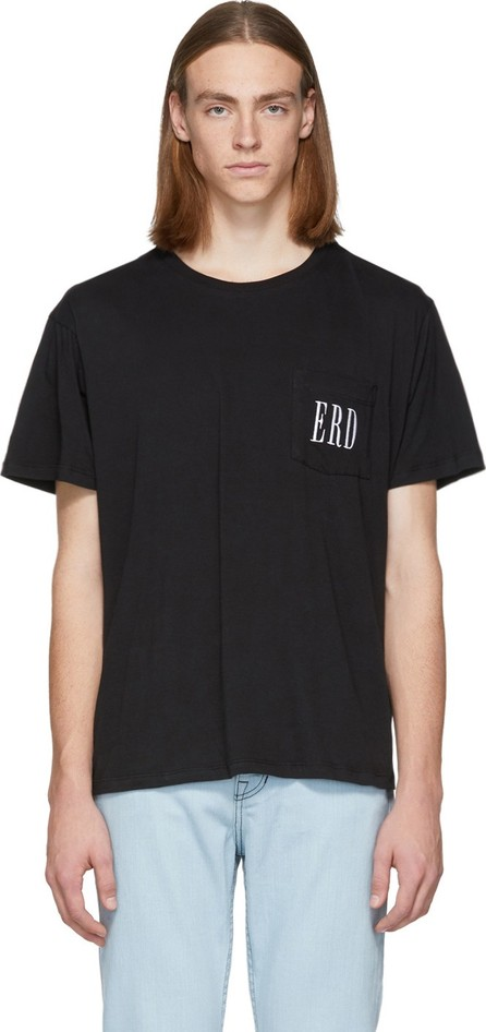 Enfants Riches Deprimes Black Embroidered Logo T-Shirt