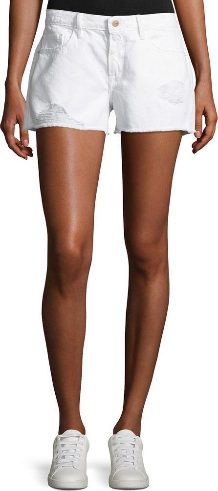 FRAME DENIM Le Grand Garcon Cut-Off Denim Shorts