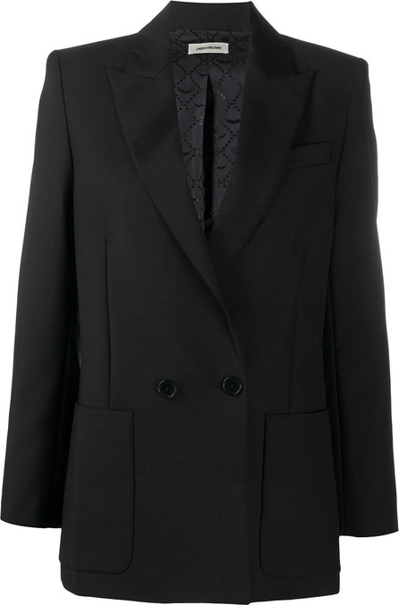 Zadig & Voltaire Double-breasted tailored blazer
