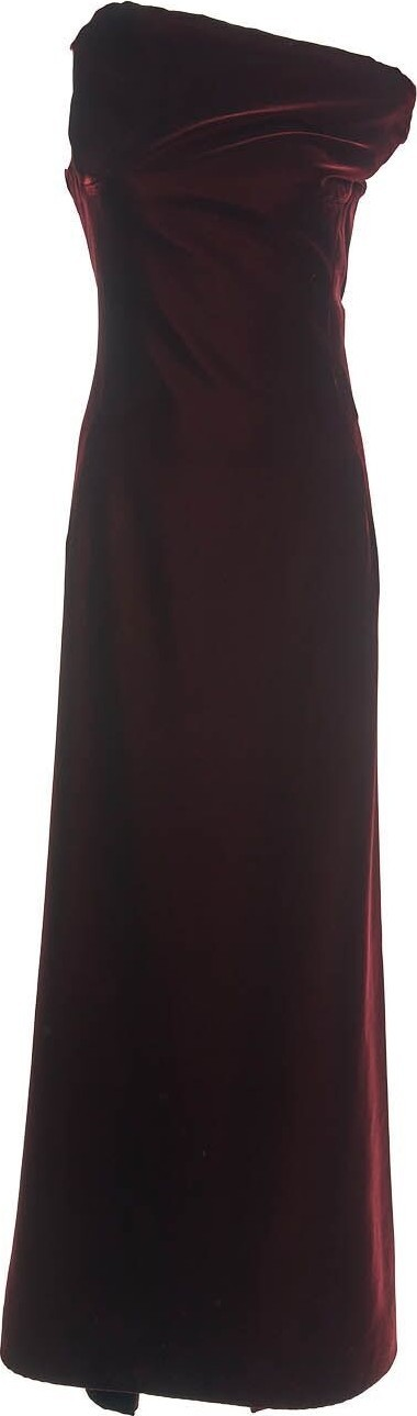 Azzedine Alaia Sleeveless Silk Velvet Dress