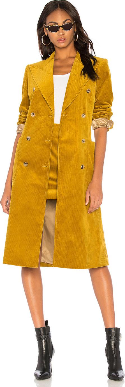 Bella Freud Corduroy Trench Coat