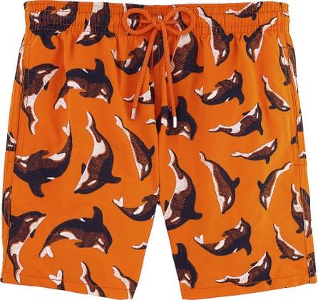 Vilebrequin Mistral dolphin print swim shorts