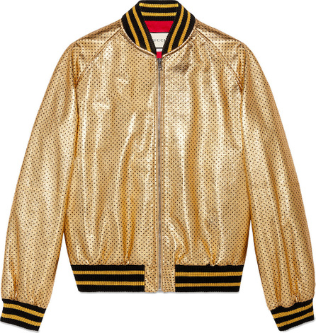 Gucci Guccy print bomber