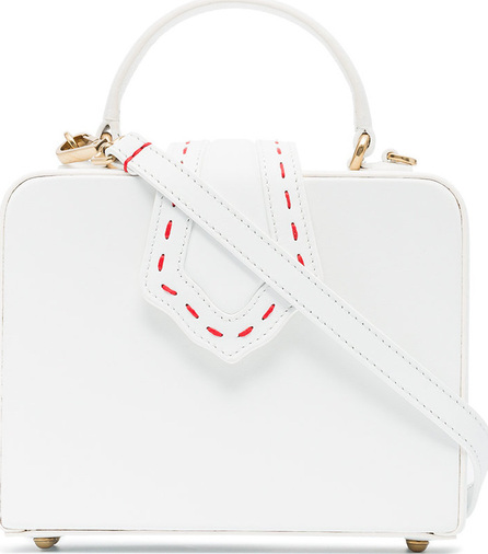 Mehry Mu White Fey small leather bag