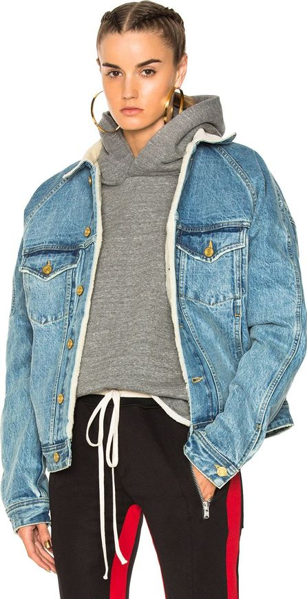 Fear of God Selvedge Lined Trucker Jacket