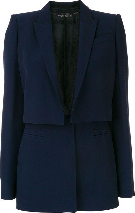 Alexander McQueen Sarabande lace box jacket