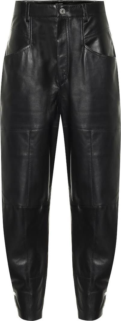 Isabel Marant Xiamao high-rise leather pants