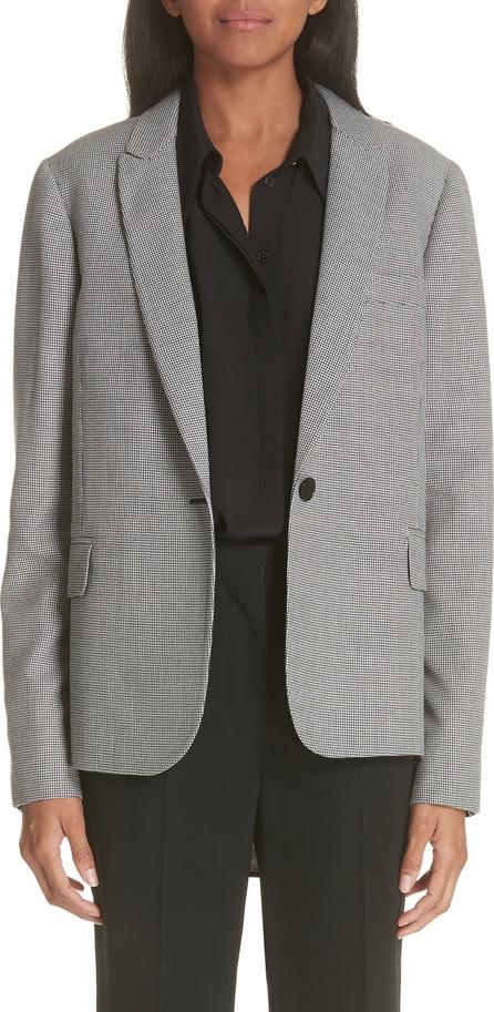 Stella McCartney Contrast Back Wool & Silk Blazer