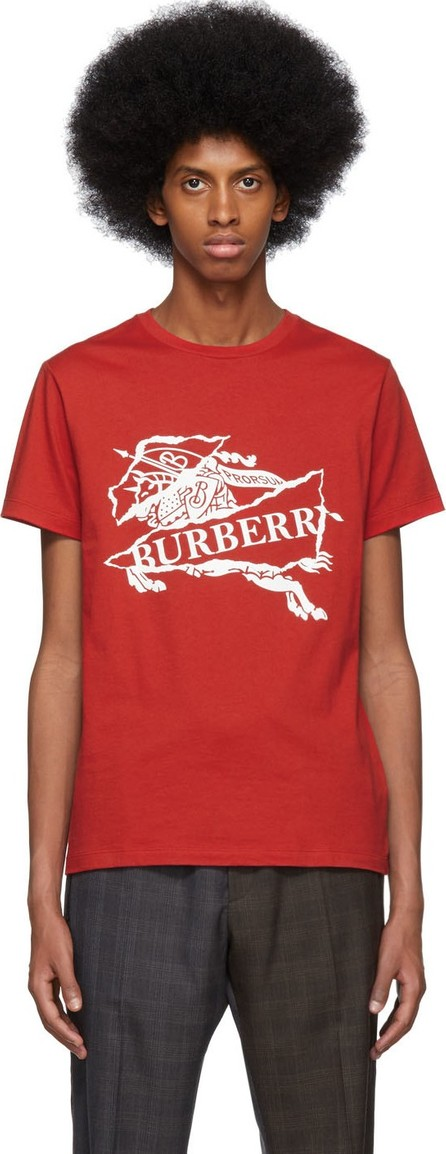 Burberry London England Red Cruise T-Shirt