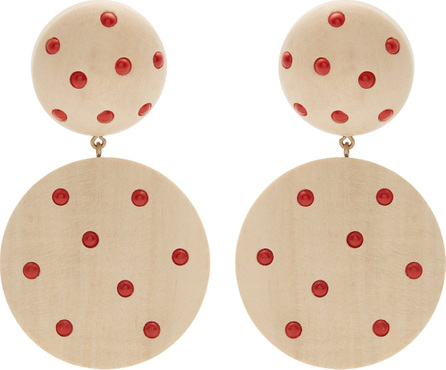 Rebecca de Ravenel Marina clip-on earrings