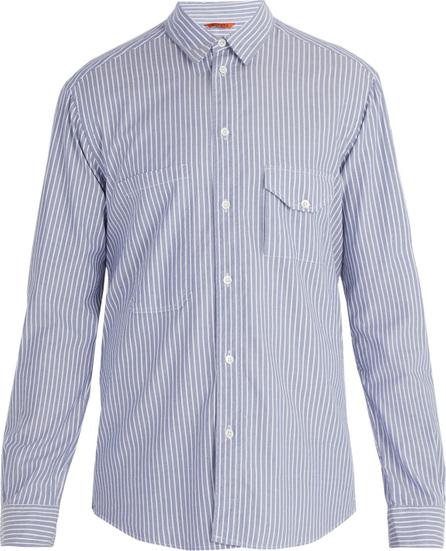 Barena Venezia Point collar striped cotton shirt