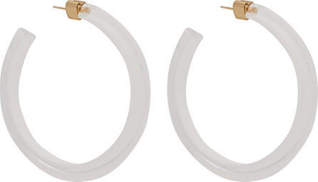 Alison Lou Jelly Hoop Lucite earrings