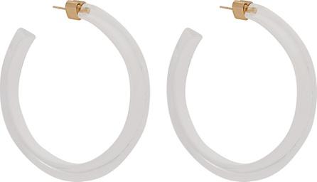Alison Lou Jelly Hoop Lucite earrings