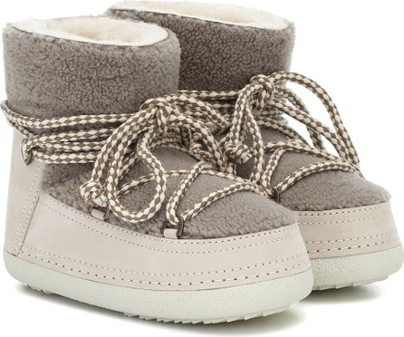 INUIKII Curly Classic shearling boots