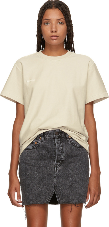 Vetements White Regular Inside-Out T-Shirt