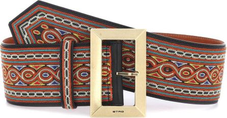 Etro Calf hair belt