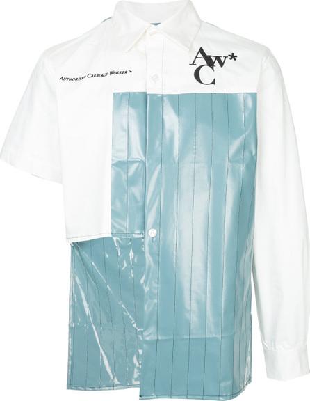A-Cold-Wall* Asymmetric contrasting panel shirt