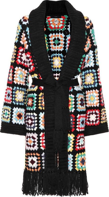 Alanui Crochet cashmere cardigan