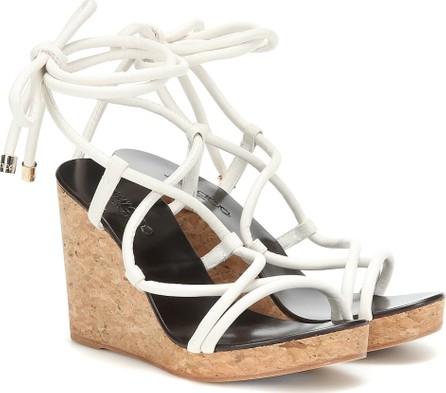 Jimmy Choo Allis 95 wedge sandals
