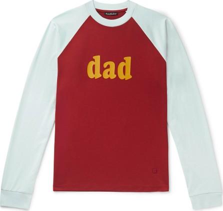 Acne Studios Printed Colour-Block Cotton-Jersey T-Shirt