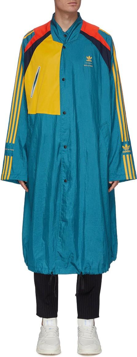 adidas x BED J.W. FORD Colourblock stripe outseam long coat