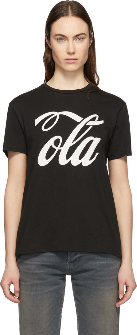 6397 Black 'Ola' Boy T-Shirt