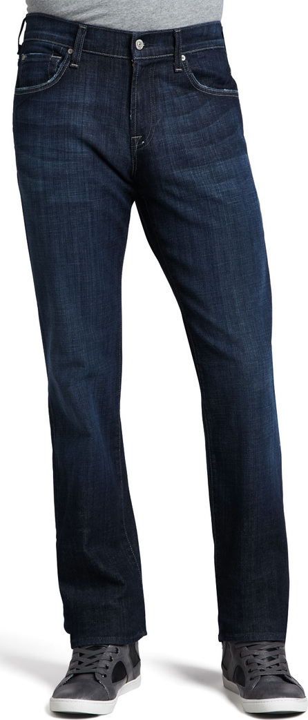 7 For All Mankind Men's Austyn Los Angeles Dark Jeans, 36""