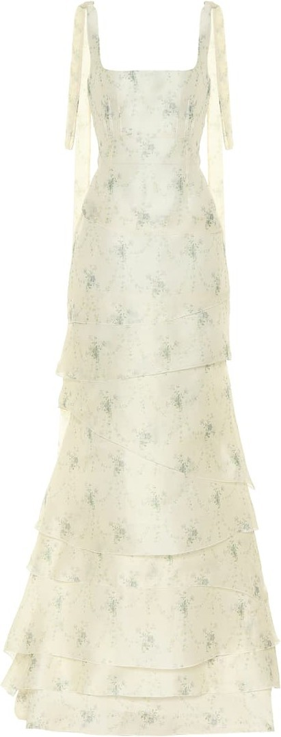 Brock Collection Quarrie silk organza gown