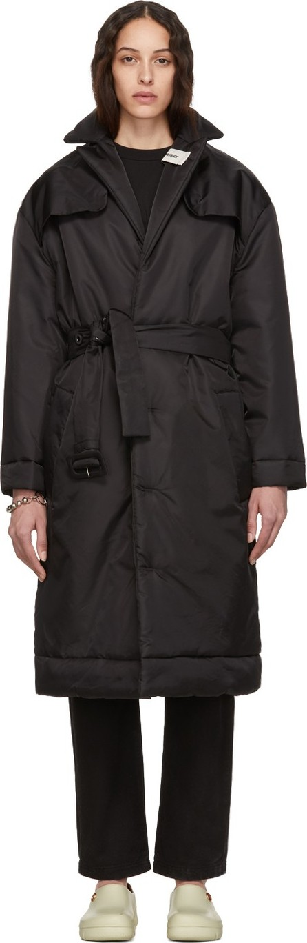 032c Black Cosmic Workshop Over Coat