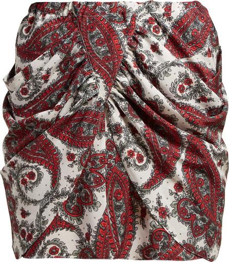 Isabel Marant Tilena paisley-print silk mini skirt