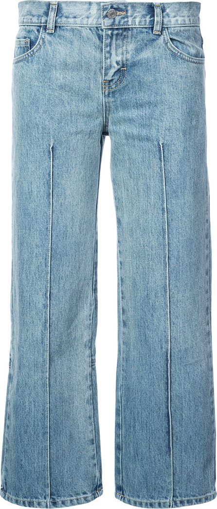Sandy Liang Cropped straight jeans
