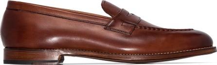 Grenson Lloyd leather loafers