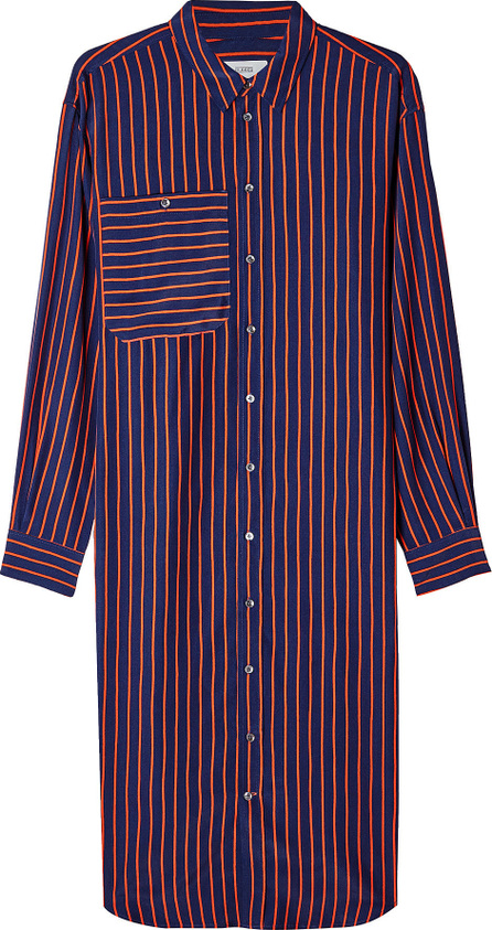 Closed Abiola Striped Shirt Dress with Silk