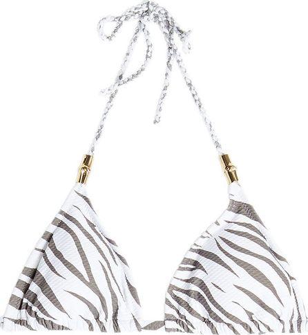 HEIDI KLEIN Bamboo Rope Padded Triangle Bikini Top