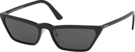 Prada Slim Acetate Cat-Eye Sunglasses