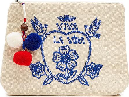 Star Mela Viva La Vida Zipped Pouch