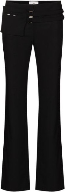 Coperni Belted flared trousers