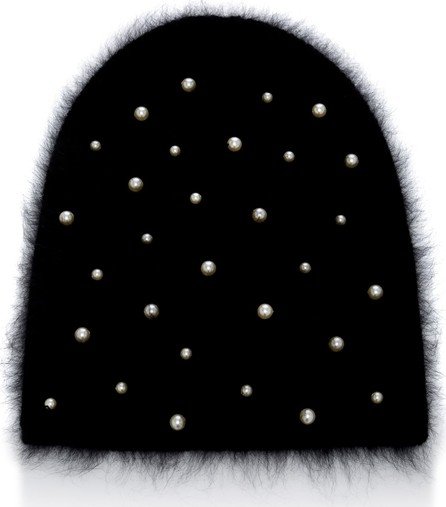 91eb759ce84 Jennifer Behr Bowie Lightning Bolts   Stars Embellished Beanie Hat - Mkt