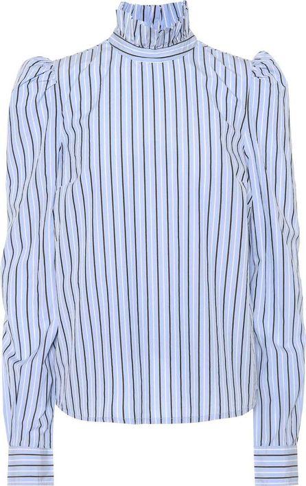FRAME DENIM Striped poplin shirt