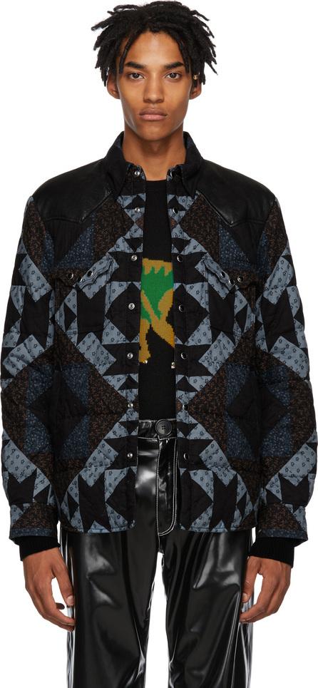COACH 1941 Multicolor Patchwork Shirt Jacket