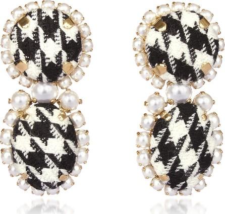Bijoux De Famille Pied De Poule Earrings